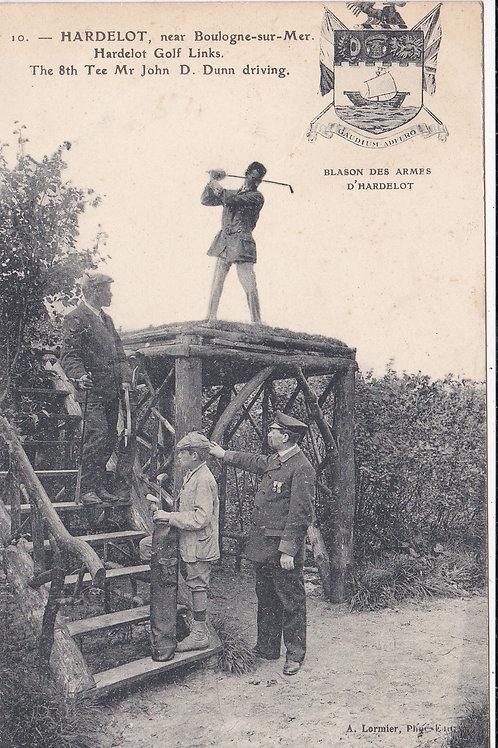 SOLD>Ref.866.D.Dunn Hardelot Golf Links.Ref 866 C.1903-07.