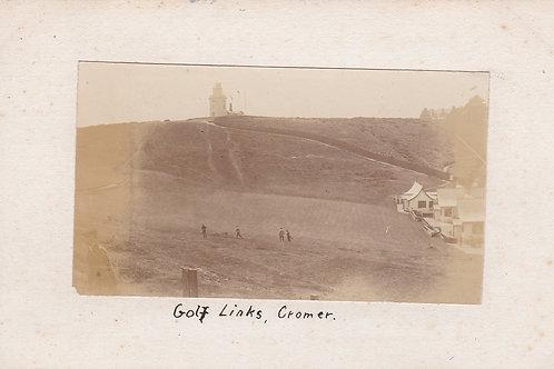 Cromer Golf Links  Ref.1927 C.Pre 1914