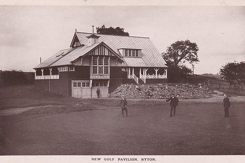 Ryton New Golf Pavilion  Ref.2112a C.1911