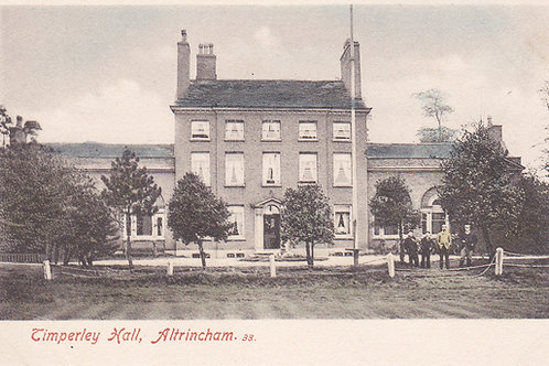 Timperley Hall & Golf Links.Ref 779. C.Pre 1914