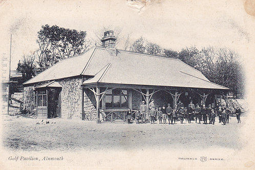Alnmouth Village  Club Pavilion.Ref 065. C.1903