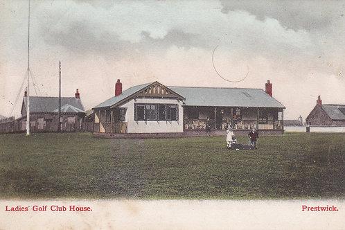 SOLD>Ref.851.Prestwick Ladies Golf Pavilion Ref.851