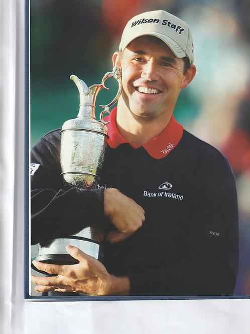 Signed British Open Championship Annual Ref.GB 613 Carnoustie 2007