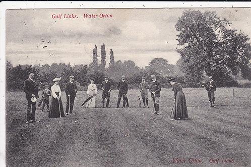 Water Orton Golf Links Ref 1262 C.1905