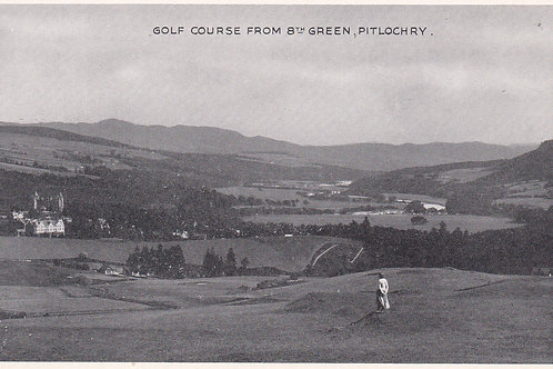 Pitlochry Links & Club House. Ref.922 C.1920-30