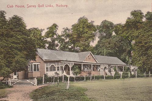 Norbury Golf Pavilion Ref.737a C.Pre 1914