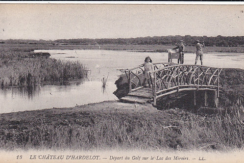 Hardelot Pines Golf Course,C.Ea 1900s Ref.1526