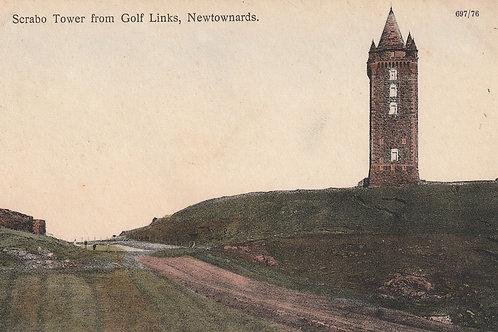 Scrabo Golf Links & Tower Ref.2373 C.1908-18