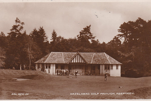 Hazelhead Golf Pavilion  Ref.2133a C.1930
