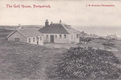 Portpatrick Golf House Ref.2275a C.1903?