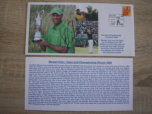 British Open Turnberry 2009 Signed Comm Cover Ref.107