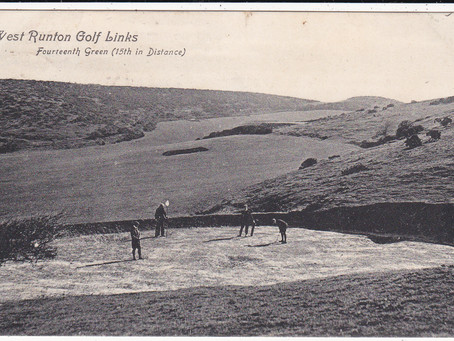 A selection of West Runton Golf Club Postcards