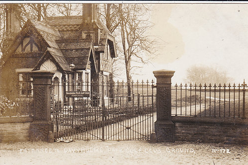 Davyhulme Park G.C.Entrance Ref.635 C.1911-15