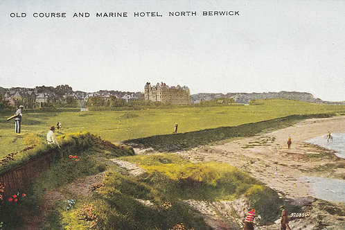 North Berwick West Links Ref.2411 C.1920s 0