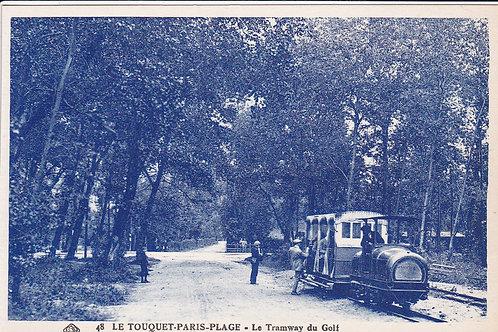 Le Touquet La Foret Golf Tramway Ref.1584 C.Ea 1900s