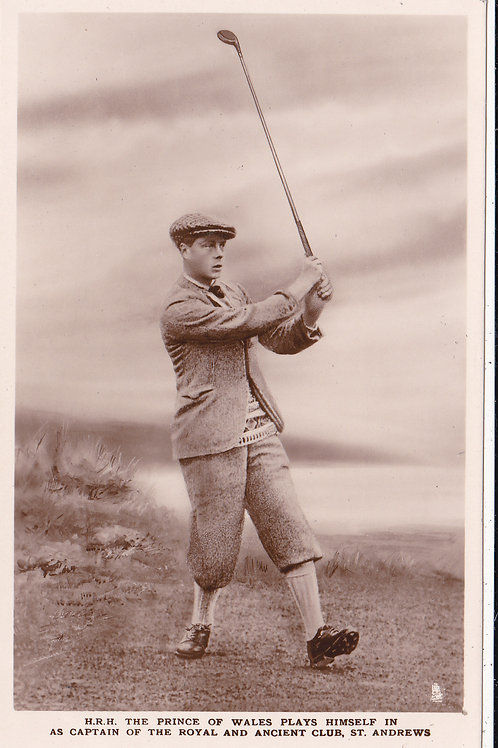 H.R.H.Prince of Wales(Edward) St.Andrews C.1922 Ref.328