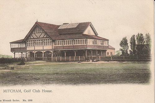 MITCHAM Golf Pavilion Ref.1985a C.Pre 1910