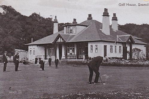 SOLD>Ref.279.Seamill Golf Club House.Ref 279. C.1912
