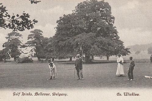 Delgany Golf Links,Co. Wicklow Ref.2834 C.ea 1900s