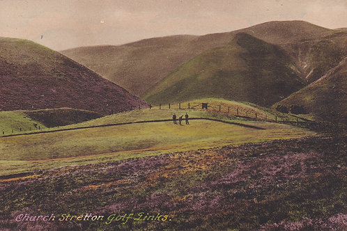 Church Stretton Golf Course C.Pre 1914 Ref.1985