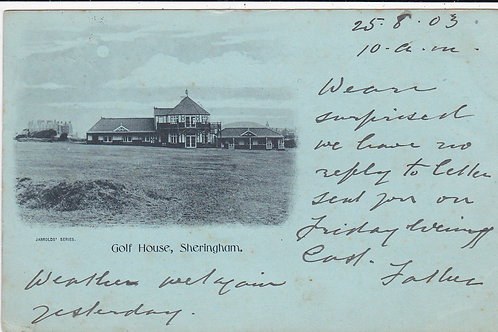 Sheringham Golf House Ref.852 C.1903