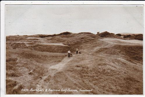 Burnham & Berrow Golf Links Ref.1277 C.1953