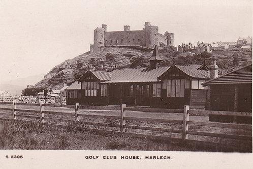Harlech Golf Club.Wood Pavilion.Ref 764 C.Pre 1914