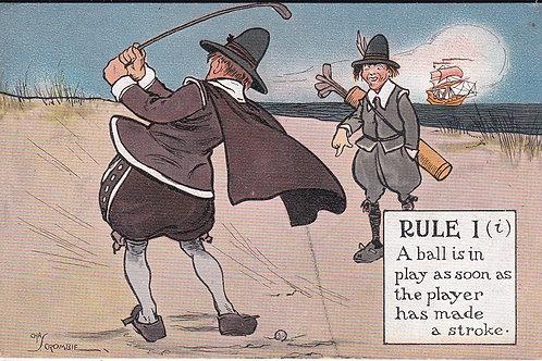 Chas.Crombie Comic PC Ref.887 C.1907