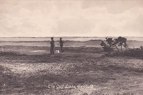 Exmouth Golf Links Ref.2167a C.1914-18