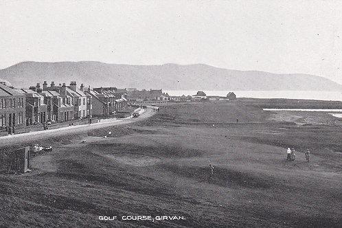 SOLD>Ref.036.Girvan Golf Links,Ayrshire.Ref 036. C.1910-25