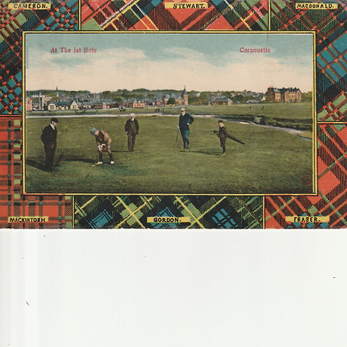 Carnoustie.At the 1st Hole Ref.2397 C.1908