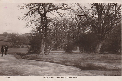 Chingford Golf Links 16th Hole Ref.714a C.1909