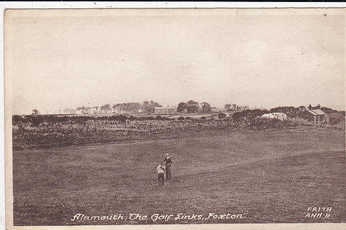 Foxton Golf Course,Alnmouth C.1930s Ref 1414