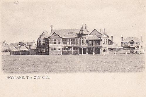 Hoylake Golf Club House.Ref 105 C.1910