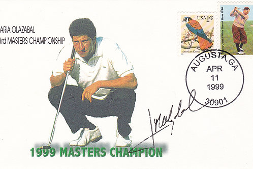 U S Masters  SIGNED 1st Day Cov.Ref FDC 39.C.1999