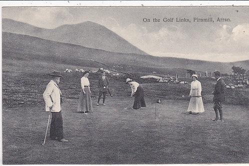 Pirnmill Golf Links,Arran Ref.  C.Ea 1900