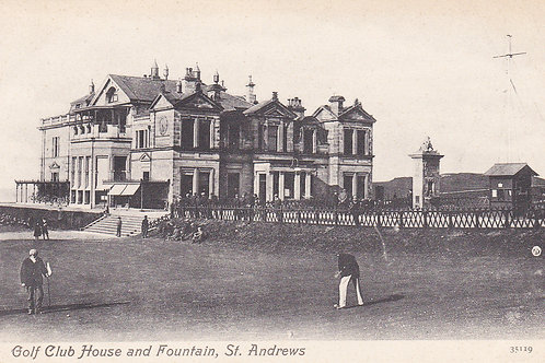 Tom Morris.R & A Club House.Ref 407. C.1904-06