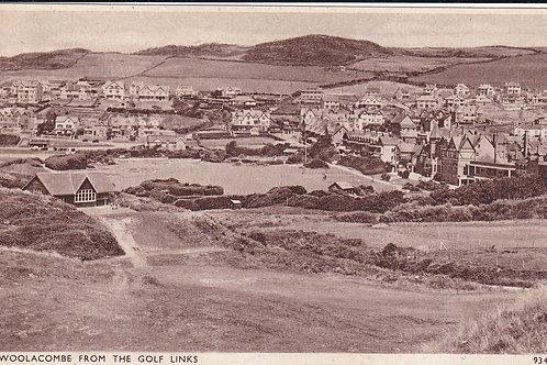 Woolacombe Links & Pavilion  Ref.1604 C.1947