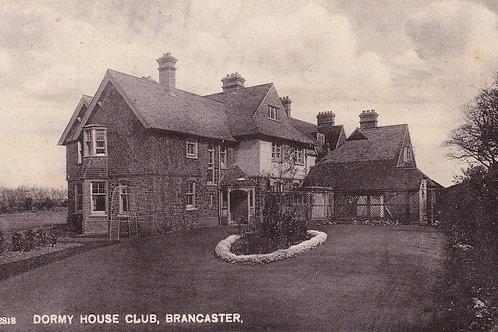 Brancaster Golf Club Dormy House.Ref 026. C.1906