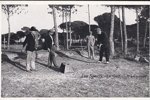 Cannes Golf Links Ref.1684 C.Ea 1900s