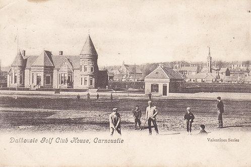 Carnoustie.Dalhousie Club House Ref.1445 C.1904