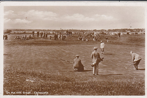 Carnoustie 5th Green Ref.1685 C.1928