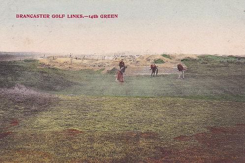Brancaster Golf Links 14th Green.Ref 001 C.1905-10