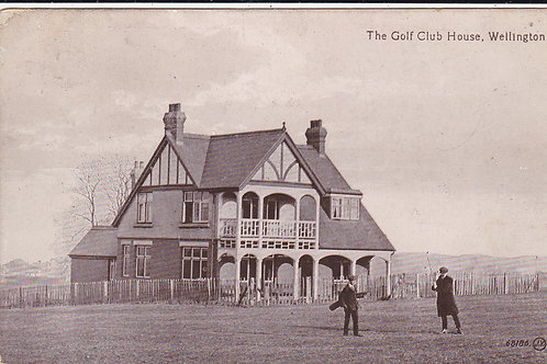 Wellington Golf Club House Ref.249 C.1913-15
