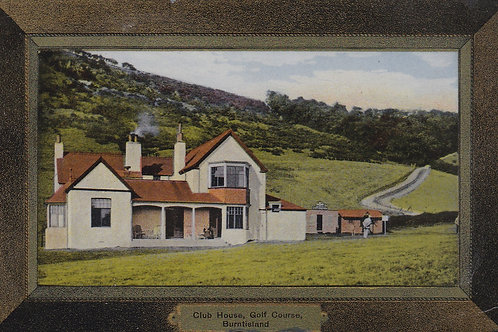 SOLD>Ref.1693aBurntisland Golf House & Course  Ref.1693a C.1908