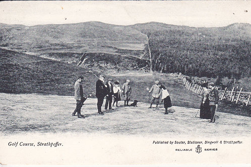 Strathpeffer Golf Links Ref.1142 C.1905