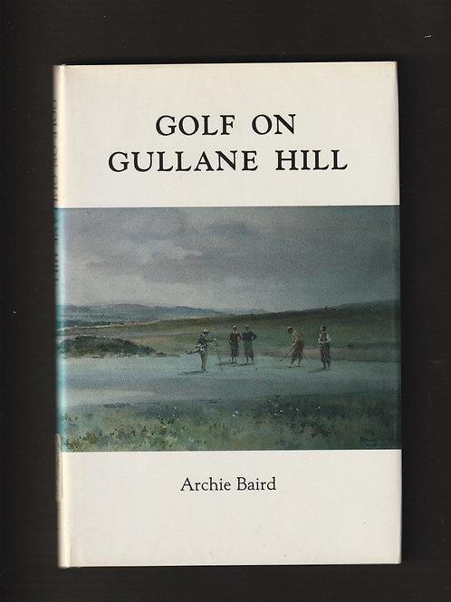 Gullane Golf Club History Signed 1st Edition 1st Printing Ref.GB. 296Ref.GB. 296