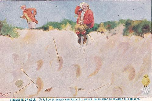 Golf Ball Ad Postcard Ref.1895 C.19