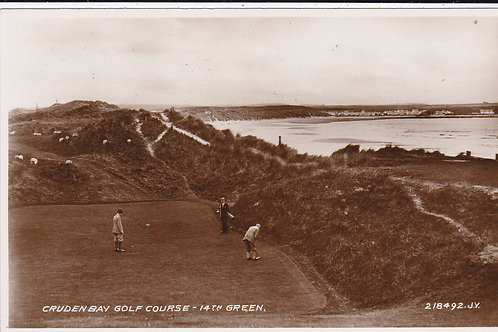 SOLD>Ref.620.Cruden Bay Golf Links C.1930s Ref.620