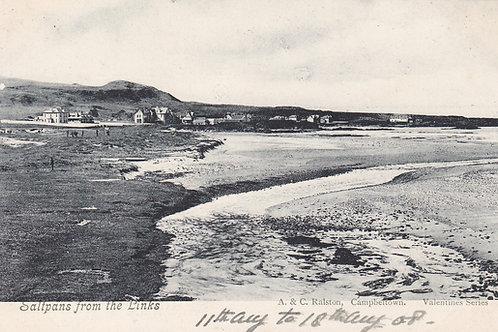 Machrihanish Golf Links & Saltpans  Ref.2094a C.1908